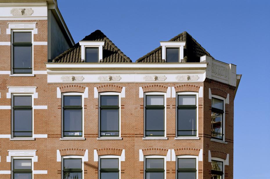 Renovatie dillenburgblokken rotterdam rinus roovers architectuur - Architectuur renovatie ...